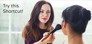 shortcut for getting into celebrity makeup artistry