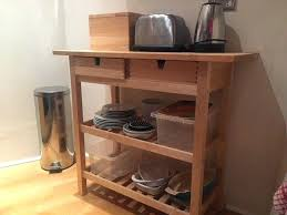 kitchen storage butchers block trolley with 3 shelves and 2 drawers ikea butcher block shelves post butcher