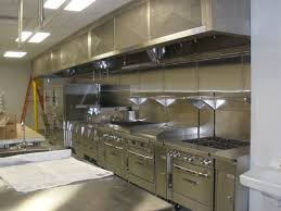 Small Restaurant Kitchen Design With Stainless Steel Commercial