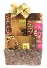 wine iva sler chocolate gift basket