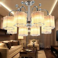 semi flush crystal ceiling lights with 8 light for living room ceiling lights living room