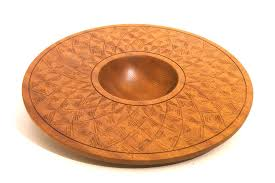 wide brimmed wooden candy bowl wooden serving bow