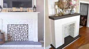 faux fireplaces
