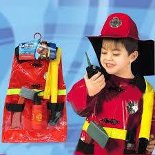 Top Sale Cosplay Fireman Costume For Kids Sam Firefighter Policeman