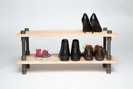 Schuhregal 2 Etagen bis 80 cm - besserwohner