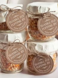 edible wedding favors with popcorn