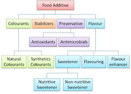 Food Preservation Chart Food Additive Spm Chemistry