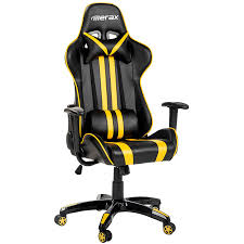 merax racing style gaming chair executive swivel leather