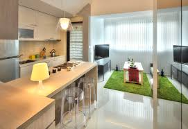 Small Flat Kitchen Small Taipei Studio Apartment With Clever Efficient Design