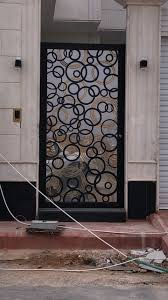Burglar Bar Door Designs Door Metaldoor Creativemetals Saudiarabia Riyadh Laser