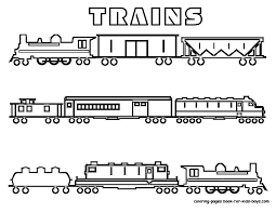 Coloring Page : Graceful Trains For Coloring Train Page Trains For ...