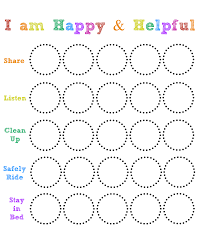 Reward Chart Template Toddler 32 Experienced Free Printable Behavior Chart For Toddlers