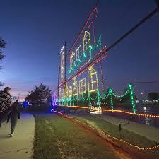 Central Park Christmas Lights Bryan Tx Christmas Lights Christianity Theeagle Com