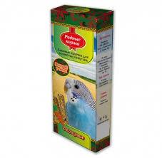 <b>Родные Корма Зерновая палочка</b> для попугаев с овощами в ...