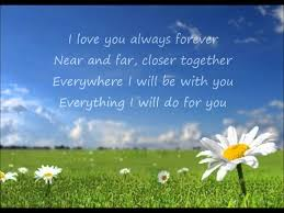Donna Lewis I Love You Always Forever Lyrics YouTube Simple Ill Love You Forever And Ever