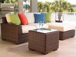 image modern wicker patio furniture. Small Patio Set Modern Outdoor Furniture For Spaces Sets Decks Wicker Image P