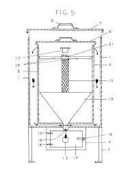 Sawdust Dryer Design Patent Drawing Rocket Stoves Stoves Online Patent Drawing