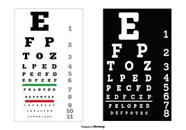 Vector Eye Test Charts Download Free Vectors Clipart