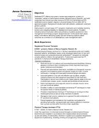 Resume Template For Physical Therapist Assistant Best Of Massage
