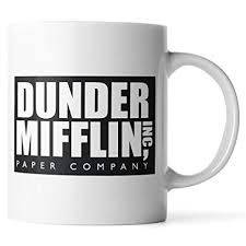 The office coffee mug Pam Image Unavailable Amazoncom Amazoncom Wuren Synchkg111723 Dunder Mifflin The Officefunny