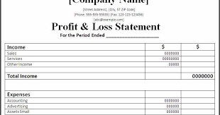 Profit And Lost Sheet Profit Loss Statements Major Magdalene Project Org