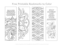 Free coloring pages of kids heroes. Free Printable Bookmarks To Color With Intricate Designs