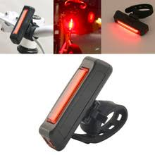 Top Quality <b>USB Rechargeable Bike</b> Bicycle Light Rear Back Safety ...