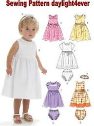 Baby Girl Dress Patterns Inspiration Baby Girl Dress Panties 48 Styles Sewing Pattern 60148 New Size SXL