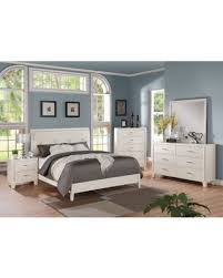 white bedroom sets. Acme Furniture Tyler 4-piece Cream And White Bedroom Set (Queen) Sets Y