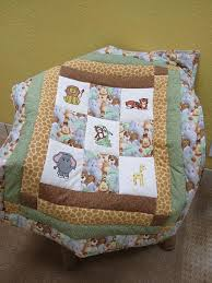 21 best jungle themed baby quilt images on Pinterest | Baby ... & Custom Jungle Animal Quilt. $85.00, via Etsy. Adamdwight.com