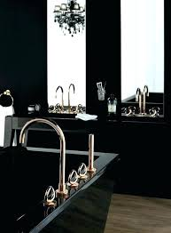 black and rose gold bathroom set sories red white home improvement astonishing s
