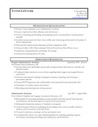 Administrative Assistant Resume Objective Sample Administrative Assistant Job Description For Resume Administrative 97