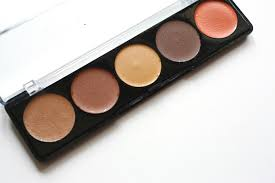 mufe 5 camouflage cream palette review makeup forever 4 india