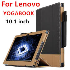 case for lenovo yoga book protective smart cover faux leather tablet for yogabook 10 1 inch pu
