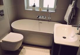 freestanding tub small bathroom magnificent free standing bath in space bit neat but looks okay like