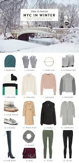 what to pack for new york city in winter 3