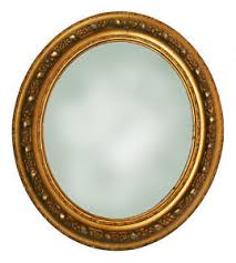 Antique Oval Gilt Frame with Mirror eBay