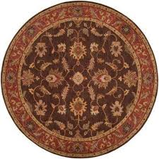 john brown 10 ft round area rug