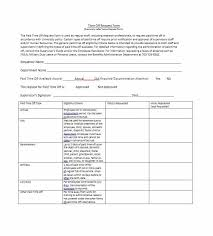 Paid Time Off Form Template 40 Effective Time Off Request Forms Templates Template Lab