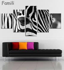Living Room Artwork Online Get Cheap Zebra Print Artwork Aliexpresscom Alibaba Group