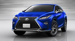 lexus rx 350 blue. lexus rx in ultrasonic blue rx 350