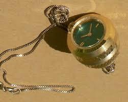 vintage seiko miniature beehive pendant