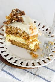Carrot Cake Cheesecake With Candied Spiced Pecans Oh So Delicioso