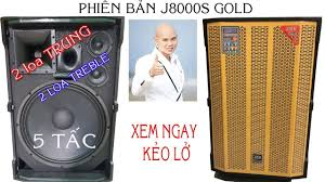 Loa Kéo Công Suất lớn 1000w JMW J8000s phiên bản gold