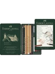 Карандаши <b>художественные Faber</b>-<b>Castell</b> Pitt Monochrome ...