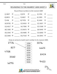 Rounding Numbers Worksheets Grade 5 - popflyboys