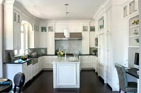 Dark Wood Floor Kitchens White Kitchen Dark Floors White Kitchen