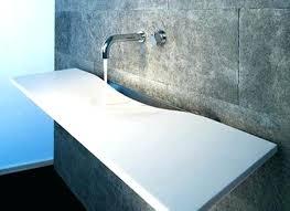 bathroom sink countertop one piece bathroom sink concrete bathroom bathroom sink s bathroom sinks countertops one