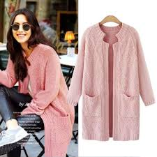 plus size cardigans on sale pink cardigans women large size sweater coat 2018 autumn knitted