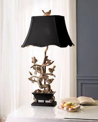 Designer lighting Scandinavian Brass Birdonbranch Lamp Designer Lamps At Horchow